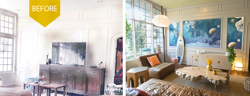 Before And After Interior Design Projects By Kim Colwell Design
