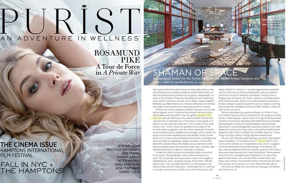 Interview With Purist Magazine